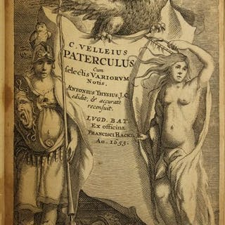 C. Velleius Paterculus -  Historiae romanae. Cum selectis variorum notis - 1653