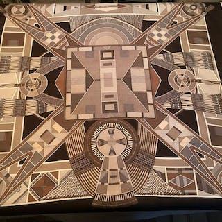 Hermès - L art indien des plaines  foulard
