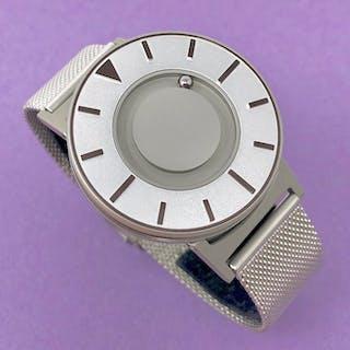 Eone - Bradley Compass Iris Silver with Mesh Strap Swiss...
