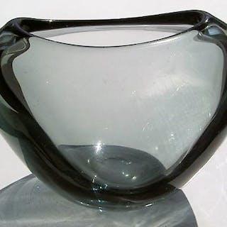 Per Lutken - Holmegaard - Vaso di cuore (1) - Cristallo, Vetro