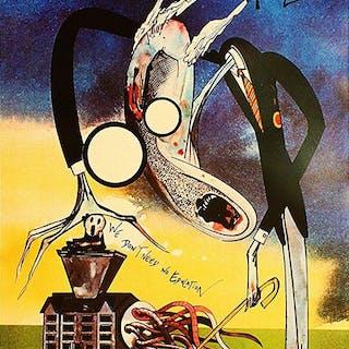 Pink Floyd - The Wall - Originales Erstdruck-Poster, von Gerard Scarfe - 1982