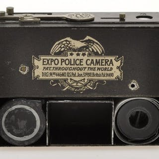 Expo Camera , Police nice and very rare subminiature camera, c.1915 exc+++