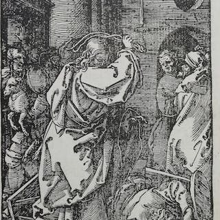 """Albrecht Durer - Woodcut from """"Piccola Passione"""" (nr"""