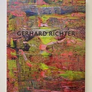 Marian Goodman Gallery- Gerhard Richter. Abstract Paintings and Drawings- 2016