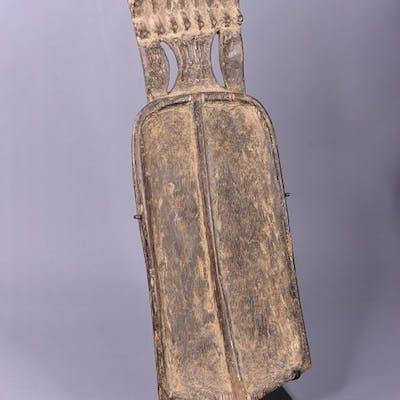 Spoon - Wood - sur socle en métal - Dan - Côte d'Ivoire
