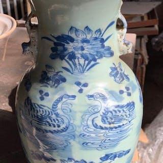 Vaso - Porcellana - Cina - Dinastia Qing (1644-1911)