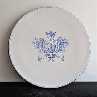 Emile Gallé, Nancy - Großer flacher Absatz - Barock - Keramik