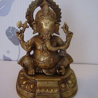 Skulptur (1) - Bronze - Ganesha - Sculpture du Dieu...