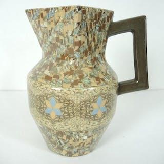 Jean Gerbino - Vallauris - Vaso Art Deco, tecnologia Nerikomi