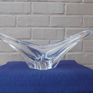 Daum - Wunderschönes Herzstück aus Kristallglas DAUM Frankreich (1)