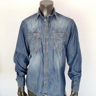 Dolce & Gabbana - Camisa de mezclilla - Talla: 41