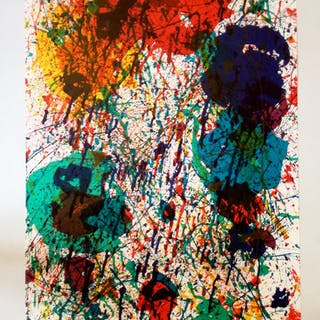 Sam Francis - Fondation Maeght - Saint Paul - 1983