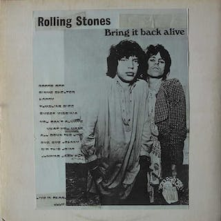 Rolling Stones - Brin It Back Alive 1LP - LP album - 1973/1973
