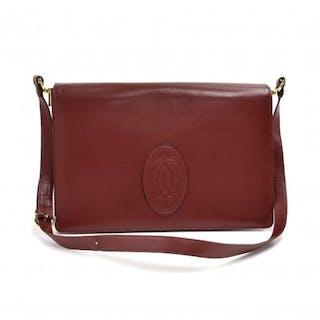 Cartier - Cartier Must de Carter Line Burgundy Leather...