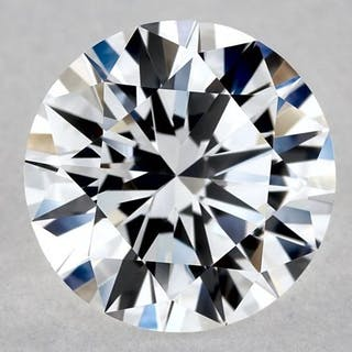 1 pcs Diamond - 0.92 ct - Brilliant, Round - D (colourless) - IF (flawless)