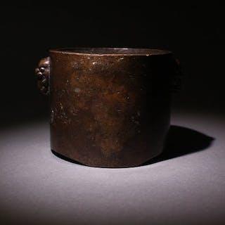 Censer - Bronze - China - Second half 20th century