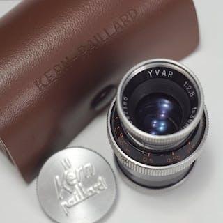 Kern Paillard - Yvar 36mm F2,8 Cine Lens Year 1954 - 10 blades