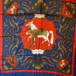 Hermès - Hermes seltener Cheval Turc aus Kaschmir