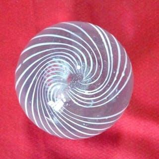 Murano-Spiralglaskugel - Kristall