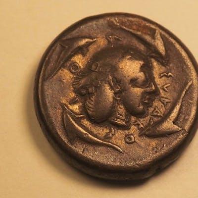 Grèce (ancienne) - Sicile, Syracuse. Tétradrachme, 478-470 av. J.C.  - Argent