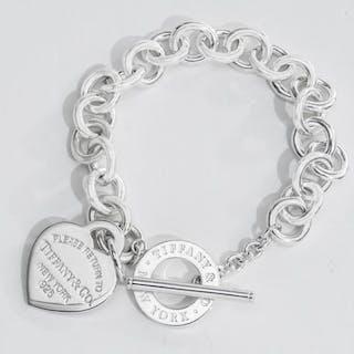 Return to Tiffany Heart Tag Toggle BraceletSilver - Bracelet