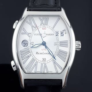Ulysse Nardin - Michelangelo Dual Time Automatic - 223-68 - Herren - 2011-heute