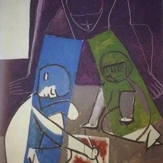 Pablo Picasso (dopo) -Francois, Clòode e Paloma