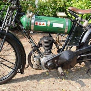 BSA - Roundtank- 250 cc - 1924