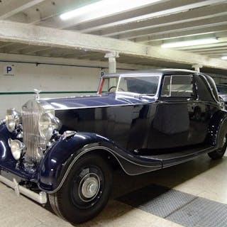 Rolls-Royce - 25/30 Wraith Coupe Hooper - 1939