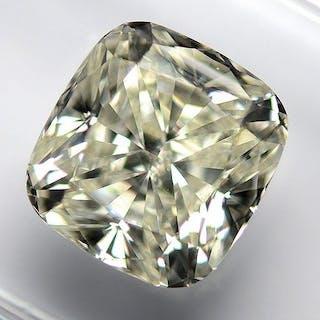 Diamond - 3.74 ct - Cushion - K - VVS2