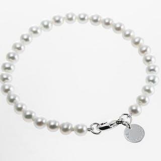 Tiffany & Co. Ziegfeld Collection Pearl BraceletSilver - Bracelet