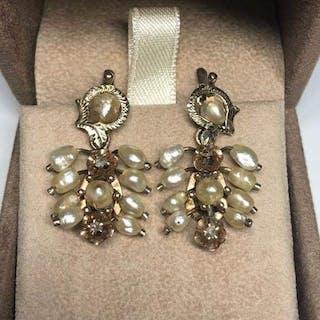Gold - Earrings Pearl