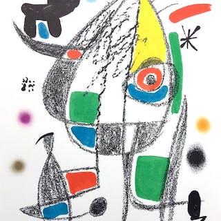 Joan Miró - Maravillas con Variaciones Acrósticas - Plate 20. WVZ Mourlot 1072