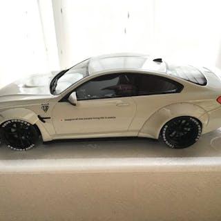 """GT Spirit - 1:18 - BMW M4 """"Liberty Walk"""" White - Limited 300 pcs!"""