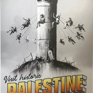 Banksy - Visit Historic Palestine Walled Off Hotel - 2018 - 2018