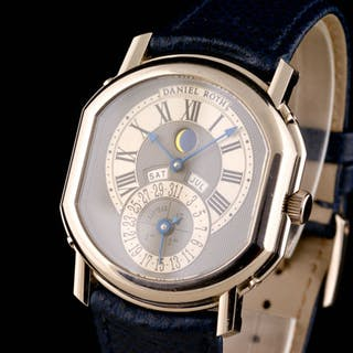 Daniel Roth - Perpetual Calendar Moon Phase 18K White...