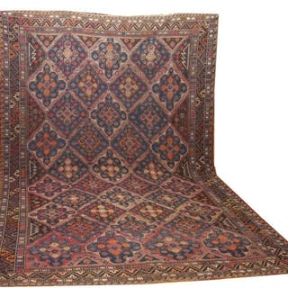 Russian Sumac rug- 400 cm - 275 cm - Wool on Cotton - Early 20th century