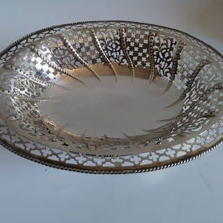 Bread basket - .925 silver - Samuel Herbert & Co