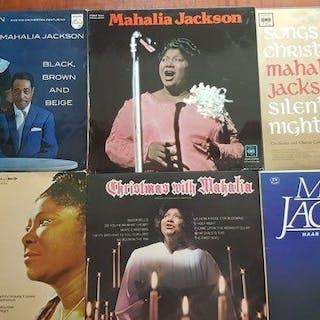 "Mahalia Jackson - 6 x 12"" album- Diverse Titel - LP's - 1958/1982"