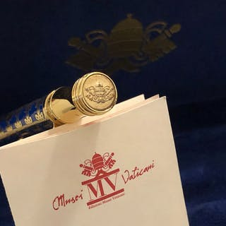 The Vatican Museums Collection Pen - NVMINE AFFLATVR - Il blu