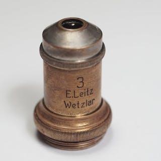 Leica E. Leitz Wetzlar 3 - Year 1896 - Antique Brass...
