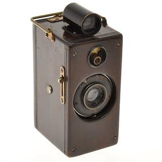 Ansco(USA): Ansco Memo wood body,35mm camera (half frame)