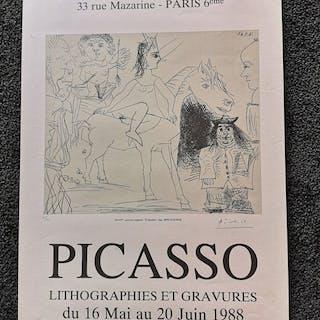 Pablo Picasso - Picasso Galerie Friedman - 1988
