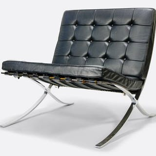 Ludwig Mies van der Rohe - Knoll - Lounge chair (1) - Barcelona chair