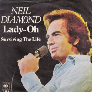 Neil Diamond - Diverse Titel - 7″-Single - 1970/1986