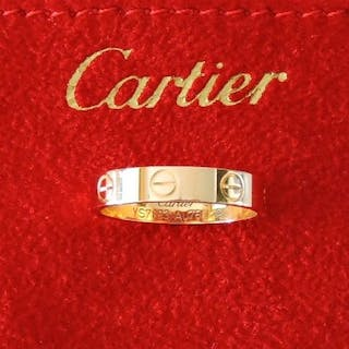 Cartier LOVE - 18 kt. pink gold in 18 kt gold 750- Ring