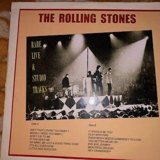 Rolling Stones - Rare Live & Studio Tracks 1LP - LP album - 1971