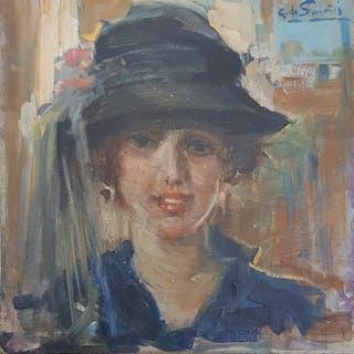 Giuseppe De Sanctis (1858-1924) - La parigina