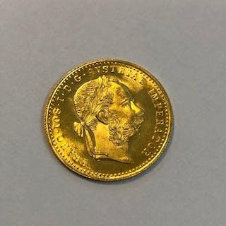 Austria - Dukat 1915 Franz Joseph I - Oro