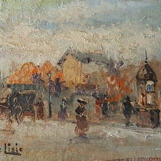 Arnaldo De Lisio ( 1869-1949)- Parigi